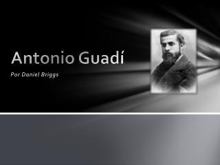 Antonio  Guadí