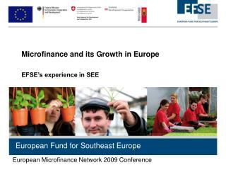 European Fund for Southeast Europe