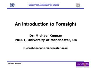 An Introduction to Foresight