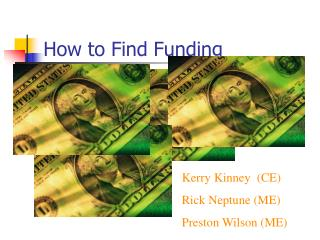 How to Find Funding