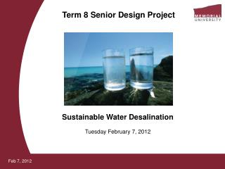 Term 8 Senior Design Project