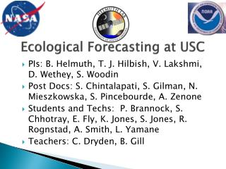 Ecological Forecasting at USC