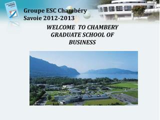 Groupe ESC Chambéry Savoie 2012-2013