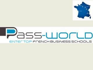 Pass-world : A single entrance exam to study International Business Management : During two years
