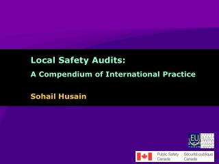 Local Safety Audits: A Compendium of International Practice