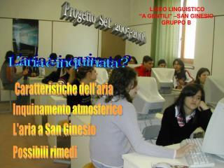 Progetto  SeT  2005-2006