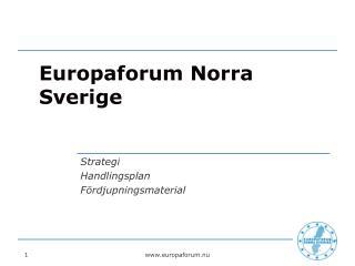 Europaforum Norra Sverige