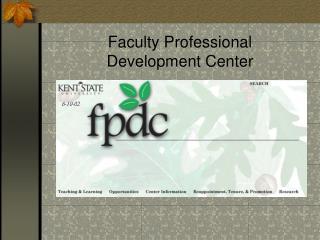 Faculty Professional  Development Center