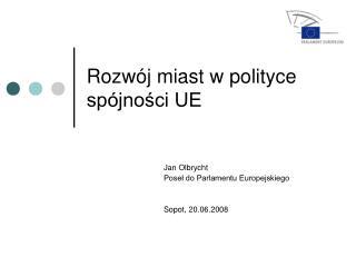 Rozwój miast w polityce spójności UE