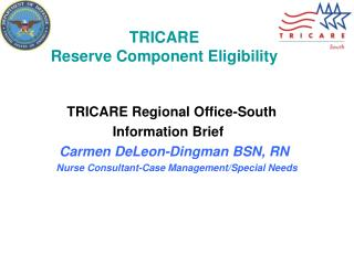 TRICARE Reserve Component Eligibility