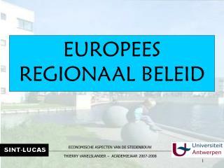 EUROPEES REGIONAAL BELEID