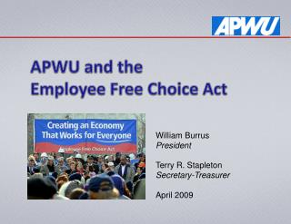 APWU and the Employee Free Choice Act