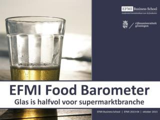 EFMI 2013 04 EFMI Food Barometer (oktober 2013)
