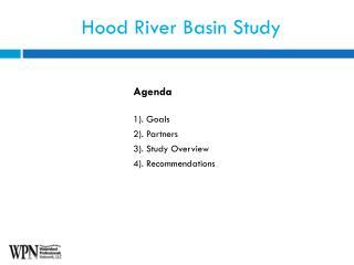 Hood River Basin Study