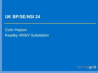 UK BP/SE/NSI 24