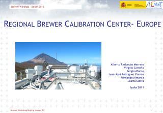 Brewer Worshop – Beijin 2011
