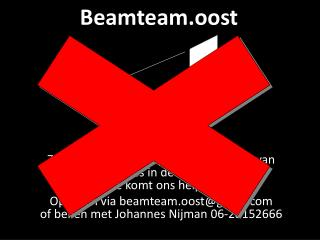 Beamteam.oost