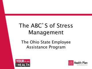 The ABC ' S of Stress Management