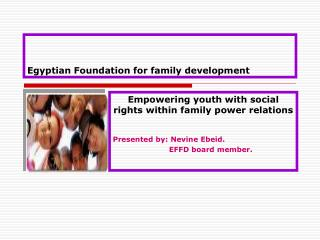 Egyptian Foundation for family development