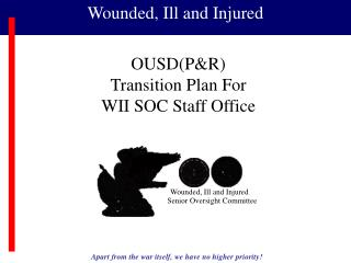 OUSDPR Transition Plan For WII SOC Staff Office