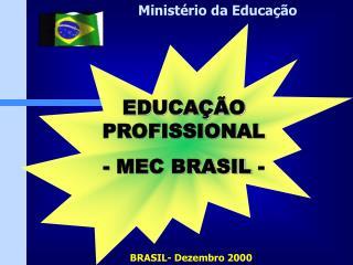 BRASIL- Dezembro 2000