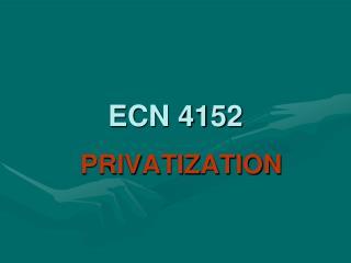 ECN 4152