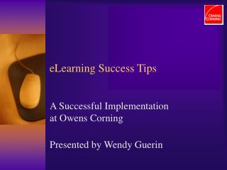ELearning Success Tips