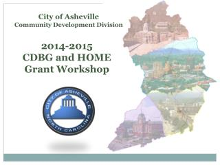 2014-2015  CDBG and HOME  Grant Workshop