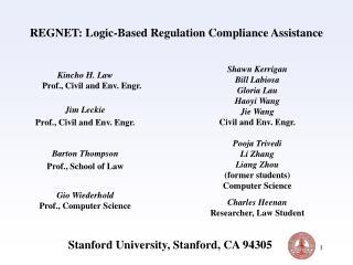 REGNET: Logic-Based Regulation Compliance Assistance