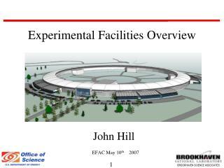 John Hill EFAC May 10 th     2007