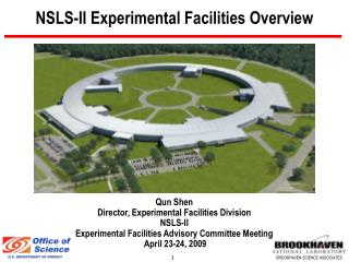 NSLS-II Experimental Facilities Overview