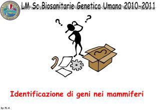 Identificazione di geni nei mammiferi