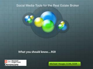 What you should know…ROI