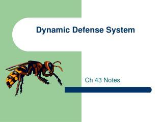 Dynamic Defense System