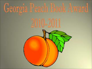 Georgia Peach Book Award 2010-2011