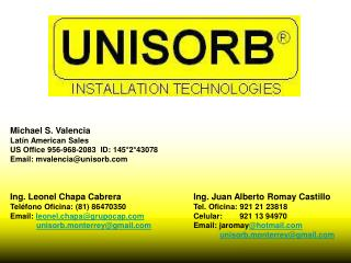 Ing. Juan Alberto Romay Castillo Tel. Oficina: 921 21 23818 Celular:      921 13 94970 Email: jaromayhotmail