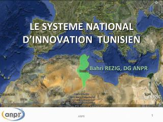 LE SYSTEME NATIONAL D'INNOVATION  TUNISIEN