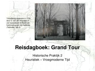 Reisdagboek: Grand Tour