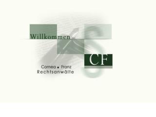 Cornea Franz  Rechtsanwälte Wirtschaftsrecht Steuerrecht Wirtschaftsstrafrecht Steuerstrafrecht