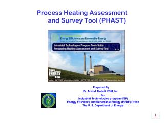 Process Heating Assessment  and Survey Tool (PHAST)