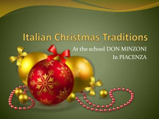 Italian  Christmas  Traditions