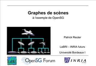 Graphes de sc nes   l exemple de OpenSG