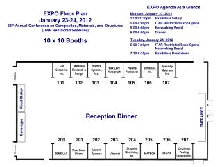EXPO Floor Plan