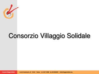 Consorzio Villaggio Solidale