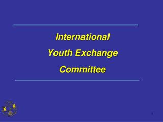 International  Youth Exchange  Committee