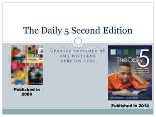 The Daily 5 Second Edition