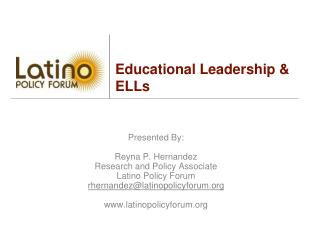 Educational Leadership & ELLs