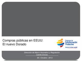 Dirección de Marco Normativo y Regulación Camilo Enciso
