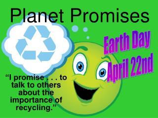 Planet Promises