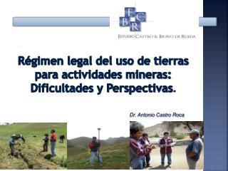 Dr. Antonio Castro Roca